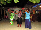 Every night is a celebration at the White Sand Beach, Yasawa Group