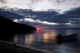 Sunset over Vaga Bay, Beqa Island