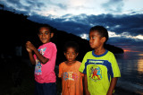 Kids on Vaga Bay, Beqa Island