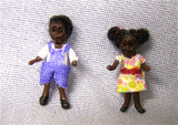 African American Boy and Girl