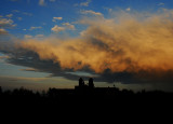 Storm Clouds over Conception Abbey