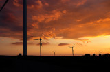 Wind Farm Sunset