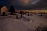 Cemetery Snow Drifts