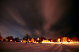 Winter Storm Aftermath Sky