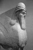 Assyrian-Human-Headed Winged Lion (lamassu)