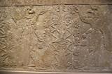Assryian Relief of Genies tending Sacred Tree