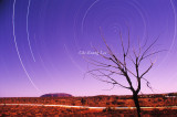 Uluru Star Trails 1