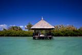 Thatched Pontoon, Ile aux Cerfs, Mauritius