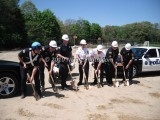05/05/2010 Police Station Ground Breaking Whitman MA