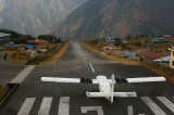 Our Twin Otter at Lukla