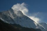 Lhotse (8501m, 27,890ft) from Dingboche