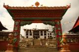 Gateway to Tengboche monastery