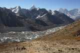 A rest while climbing Kala Patthar, 5623m (18448ft)