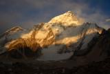 Nuptse before sunset, from Gorak Shep