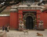 Kathmandu - Taleju Temple gate, Durbar Square