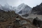 The Khumbu glacier, near Lobuje