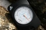 Altimeter off the scale! Top of Nangkartshang (5100m)