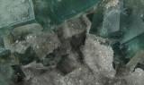 Fluorite/Quartz/Galena Detail