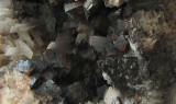 Strontianite, Marcasite, Barite Detail