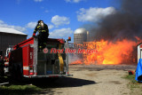 Dudley MA - Barn fire; 110 Ramshorn Rd. - May 16, 2010