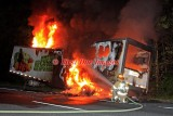 Oxford MA - Grocery Trailer fire, I-395 Southbound - May 31, 2010