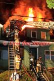 Webster MA - 3 Alarm structure fire; 54 Negus St. - June 4, 2010