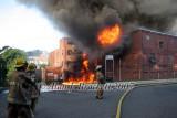 Uxbridge MA - Bernat Mills fire - July 21, 2007