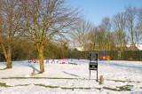 Alconbury cum Weston - Snow scenes