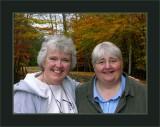 Deb & Michele in Keji