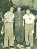 Malcom Brady, Bob Reuther, and Preacher Hamilton.