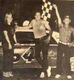 Jimmy Raines 54 and  Flagman Maxy Grubb