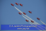 The Red Arrows  11/03/10 (last UK before accident in Crete)