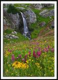 Porphyry Basin Waterfall