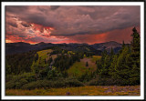 Stormy Sunset Over The San Juans