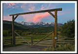 Sunrise at the Double RL Ranch I