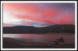 Halloween Sunset at the Vallecito Reservoir