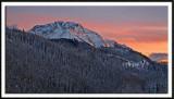 Twilight Peak At Sunset
