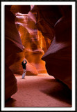 Photographer In Upper Antelope Canyon