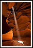 Light Beam At Upper Antelope Canyon