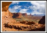 False Kiva - Canyonlands