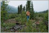 Don, Old Cabin Site...