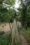 Footbridge, Xieng Kouang Prov. Laos