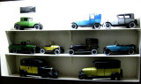 Models of early Citroen cars