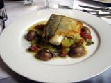 Roast Scottish haddock