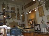 The coffee and tea shop