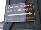 The carriage museum near the entrance