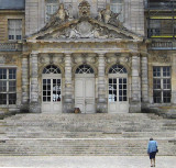 Detail of the main entrance