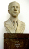 Sculpture of the museum's founder