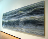 Open Water is a painting of 3 panels