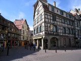 A typical building in Colmar